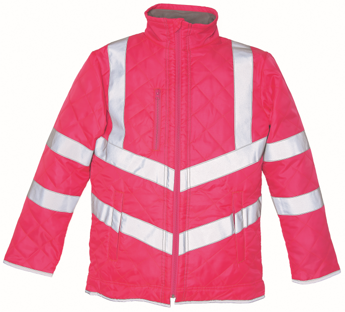 Safety Yellow Shirts >> HVW706 Yoko Hi-Vis Kensington Jacket - AWS Ltd