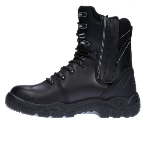Dennys Comfort Grip Managers Safety Shoes Black Leather Uppers /& Lined DK83